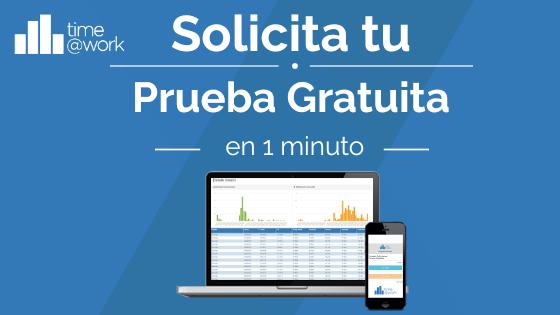 Software control horario Time@Work prueba gratuita