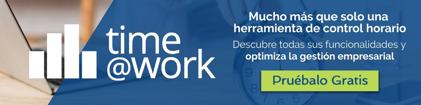 PRUEBA GRATUITA TIME@WORK